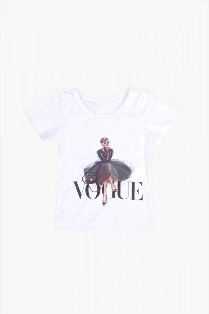 Wit Vogue T-shirt
